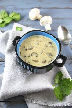 Mushroom Cream Soup | Yummy taste Food
