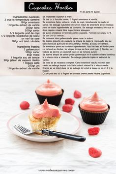 cupcakes (recipe in Romanian)