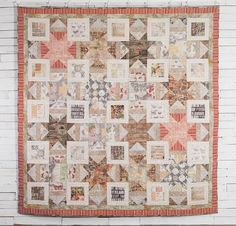 An earthy palette and timeless prints make the FreeSpirit Variable Star Quilt Kit a homey hit! You'll receive an exclusive Tim Holtz's Electic Elements fabric to sew this classic design. Featuring soft, neutral hues and eye-catching piecing, this quilt top would be a beautiful holiday gift.