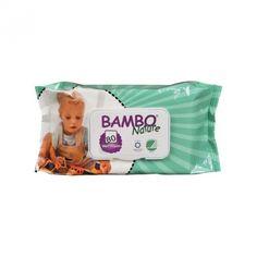 Vlhčené ubrousky Abena Bambo Nature, 80ks