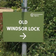 Old lock, new sign