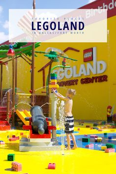 If you live in or are planning to visit the Dallas / Fort Worth area, don't miss Legoland Discovery Center. Legoland has been one of our favorite places in to visit for years and now they have a new water park!
