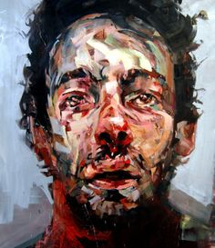 """Saatchi Online Artist: Andrew Salgado; Oil, Painting """"If One Man's Joy Is Another Man's Sadness"""""""