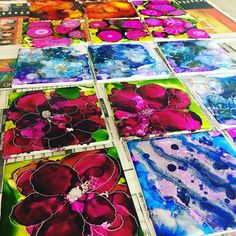 "56 Likes, 6 Comments - A and K Art Studio (@aandkartstudio) on Instagram: ""#coasters #allgone now! #aandkartstudio #alcoholink #rangerink #paintingontile #losangelesartist…"""