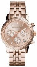 Michael Kors MK6077 Ritz Rose Gold-Tone