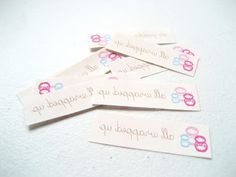 how to make your own labels with a regular old printer and transfer paper
