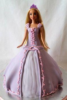 Rapunzel Tangled cake