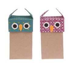 Owl gift box assorted