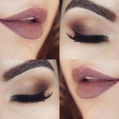 makeup nude brown #batomhermioneliquido