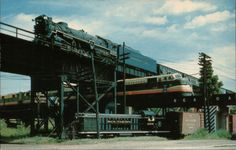"Triple railroad ""crossing"" Richmond VA. Top to bottom...Chesapeake & Ohio, Seaboard, Southern."