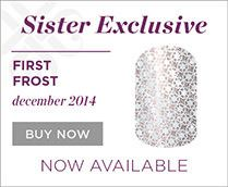 The December #JamberryNails Sister Style Exclusive (SSE), #FirstFrostJN, is so pretty! Don't miss out! Order before the end of December! Get it at, www.kategriffin.jamberrynails.net/shop