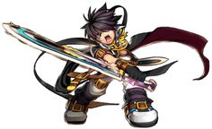 Grand Chase's Ercnard Sieghart, Prime Knight