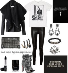 """Big dreams, good music & expensive taste."" by ana-isabel-figueira on Polyvore"
