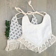 Pretty bibs for babies