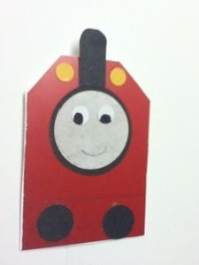 Thomas and friends punch art