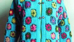 Association tricot - crochet