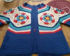Crochet For Kids, Free Crochet, Crochet Top, Crochet Baby Sweaters, Crochet Clothes, Baby Knitting Patterns, Crochet Patterns, Crochet Cardigan, Crochet Crafts
