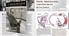 With winter in full swing at the time of writing this article it came to the authors mind that some of the awkward and usually uncomfortable mechanics related to snow shovelling would be a helpful topic to the practicing Osteopathic Manual Therapist. In the following article a specific incident will be highlighted: the dreaded uneven shovel-to-pavement collision. This article is not intended to be so specific to snow shovelling that it is not useful for any other purposes; in fact the reader…