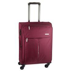 #Handgepäck d&n Travel Line 7504 bei Koffermarkt: ✓leichtes Weichgepäck ✓4 Rollen ✓IATA-konform ✓Farbe: bordeaux-rot ⇒Jetzt kaufen