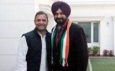 Sidhu joins Congress, calls it 'new inning' #NavjotSinghSidhu #Congress #RahulGandhi #PoliticalNews