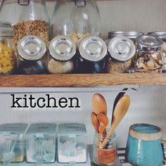 調味料入れ/キッチン収納/カトラリー/食器/3Coins/IKEA…などのインテリア実例 - 2015-02-18 02:36:48 | RoomClip(ルームクリップ)