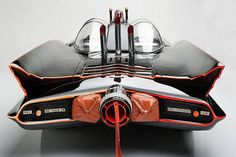 The original Batmobile as built by George Barris for the TV show…