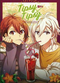 Tenn x Riku Anime People Drawings, Drawing People, Cute Anime Guys, Anime Love, Twin Guys, Manga Art, Anime Art, Cute Twins, Image Manga