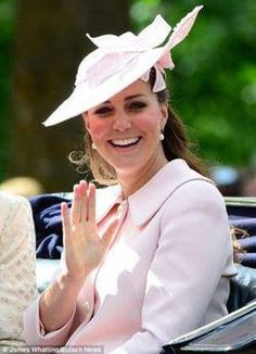 Kate. Duchess of Cambridge, Trooping The Color, June 15, 2013