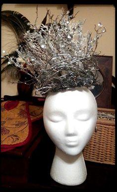Ice Queen White Witch Renaissance Fantasy Crown