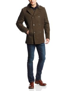 Levi's Men's Peacoat with Zip Out Nylon Bib, Olive, Large Levi's http://www.amazon.com/dp/B00IQAU9XY/ref=cm_sw_r_pi_dp_D8fZub17S8FW3