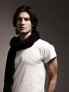 Ben Barnes. Seriously, where are all the men with long hair like this?!