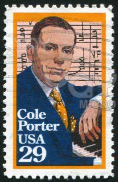 USA - Cole Albert Porter fue un reconocido compositor y letrista de música popular estadounidense,