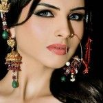 Bridal Makeup & Hair Styles Collection 2013 By Nabila Salon (2)