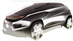 Chrysler Sponsored Project 2013 on Behance Car Design Sketch, Car Sketch, Ad Design, Supercars, Futuristic Cars, Car Drawings, Concept Cars, Jeep Concept, Transportation Design
