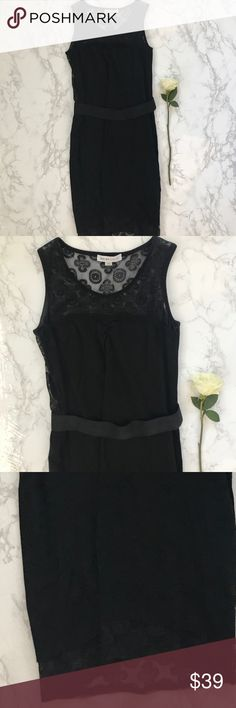 See by Chloe Neiman Marcus LBD lace sweater dress See by Chloe dress in size 4. Great preowned condition ! See By Chloe Dresses Midi