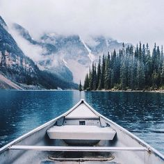sanborncanoecompany:  The Valley of the Ten Peaks. Moraine Lake. #ScoutForth folks! Photo by @nathanielatakora