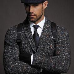 Wake up and start building the life you want ! Mens Fashion Blog, Fashion Bags, Fashion Trends, Tweed, Just For Men, Costume, Men Looks, Suit Jacket, Blazer