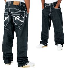 Rocawear Thick Rick Loose Fit Jeans Raw Japan