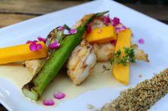Cavaquinha com molho de espumante e manga é o prato do Chez Philippe para o Circuito Gastrô Lauro Alves/Agencia RBS