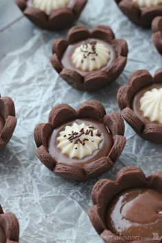 Chocolate Caramel Cheesecake Tartlets