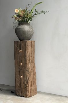 Tree Furniture, Home Decor Furniture, Rustic Furniture, Home Furnishings, Interior Plants, Interior And Exterior, Wooden Stools, Diy Home Crafts, How To Antique Wood