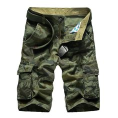 7e3fd80ef4 Loose Camo Cargo Shorts
