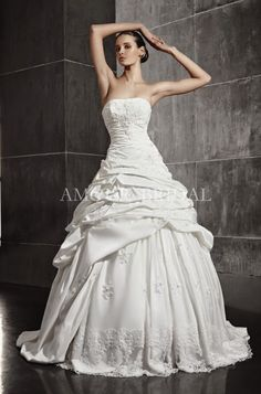 Amour Bridal 2013 - 005 Wholesale Wedding Dresses, Flower Girl Dresses, Prom Dresses, Perfect Relationship, Celebrity Dresses, Special Occasion Dresses, Bridal Gowns, Ruffles, One Shoulder Wedding Dress