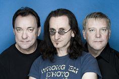 Rush: Neil Pear, Geddy Lee y Alex Lifeson.
