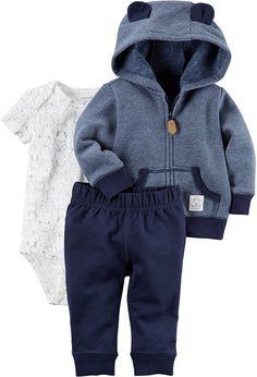 7ba81620b512e Amazon.com  Carter s Baby Boys` 3-Piece Little Jacket Set  Clothing