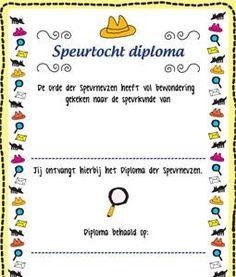 Speurtocht diploma