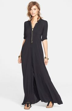 Free+People+'After+the+Storm'+Shirtdress+available+at+#Nordstrom