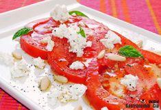 Tomates con mantequilla avellana