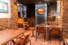 fotos de bares vitage | Combinadas con los apliques de pared de diseño vintage en aluminio ...