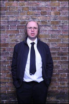 "Karl Pilkington in the new show ""Derek"""